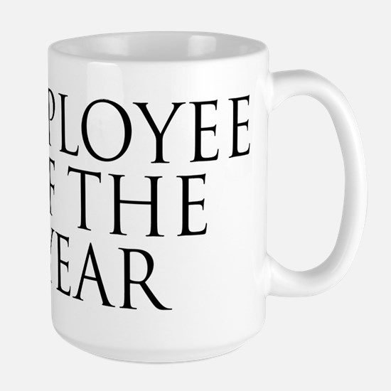 Employee Of The Year Large Mug