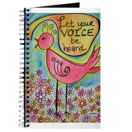 Let Your Voice Be Heard Journal