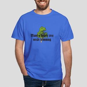 Trimming Family Tree Dark T-Shirt