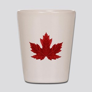 Canadian Maple Leaf Shot Glass