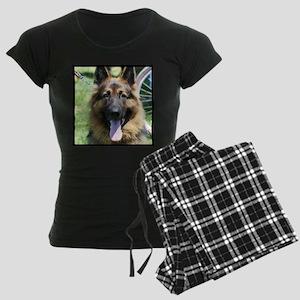 German Shepherd Women's Dark Pajamas