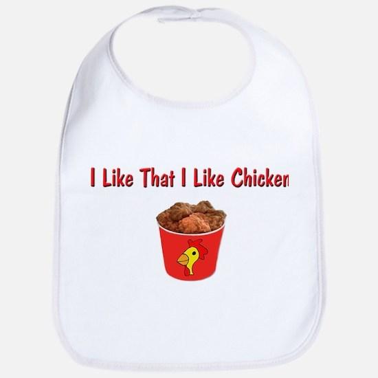 I Like That I Like Chicken Bib