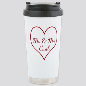 Mr. and Mrs. Castle Stainless Steel Travel Mug