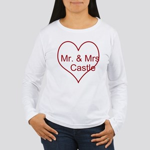 Mr. and Mrs. Castle Women's Long Sleeve T-Shirt