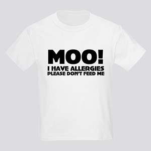 Milk Allergy Kids Light T-Shirt