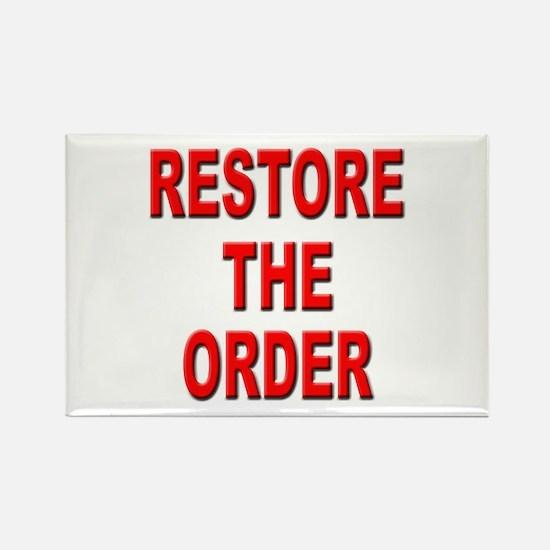 Nebraska Restore the Order Rectangle Magnet