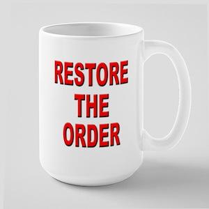 Nebraska Restore the Order Large Mug