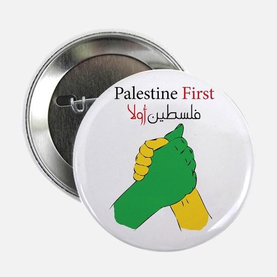 """Palestine first united 2.25"""" Button"""