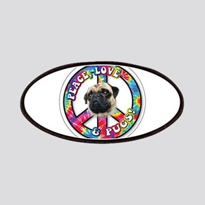 Peace, Love and Pugs Patches