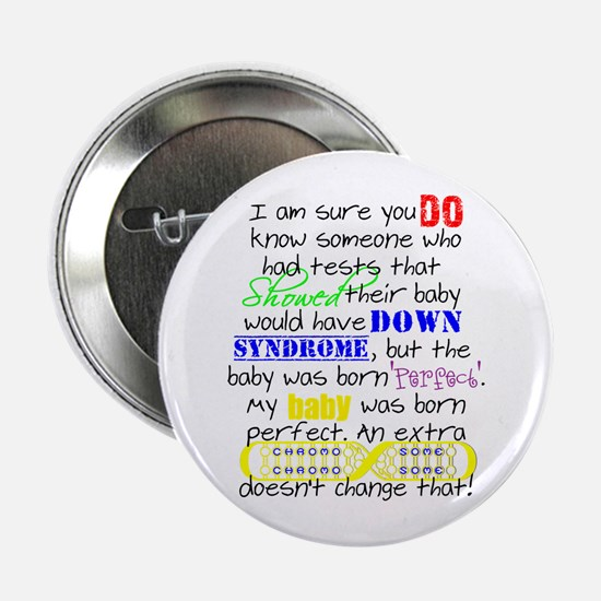 """Perfect Baby 2.25"""" Button"""