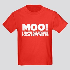 Milk Allergy Kids Dark T-Shirt