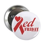 """Red Friday 2.25"""" Button"""