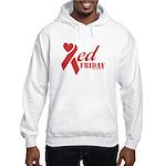 Red Friday Hooded Sweatshirt