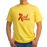 Red Friday Yellow T-Shirt