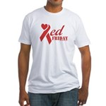 Red Friday Fitted T-Shirt