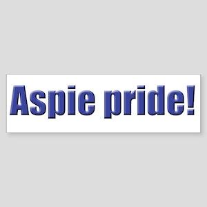 Aspie Pride! Bumper Sticker