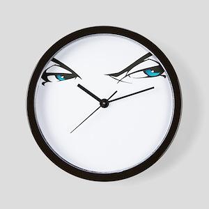 Eyes of Envy Wall Clock