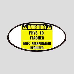 WARNING: P.E. Teacher Patches
