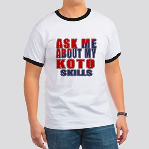 Ask About My Koto Skills Ringer T