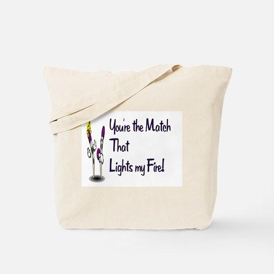 my flame Tote Bag