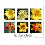 The Lily Garden Small Poster