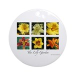 The Lily Garden Ornament (Round)