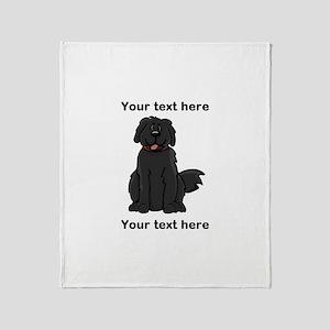 Newfie - Customizable Throw Blanket