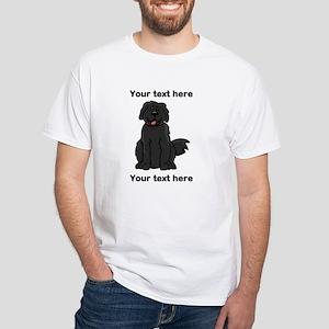 Newfie - Customizable White T-Shirt