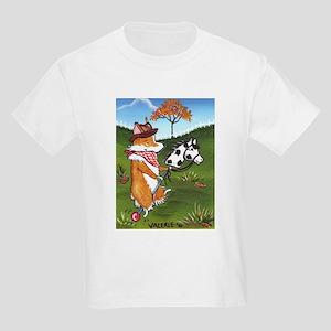 Cowboy PEMBROKE WELSH CORGI Kids T-Shirt