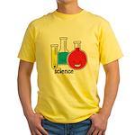 Test Tubes Yellow T-Shirt