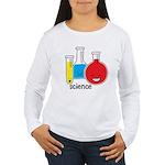 Test Tubes Women's Long Sleeve T-Shirt