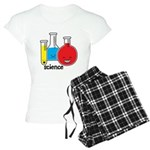 Test Tubes Women's Light Pajamas