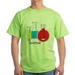 Test Tubes Green T-Shirt