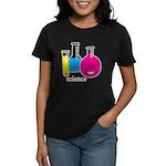 Test Tubes Women's Dark T-Shirt