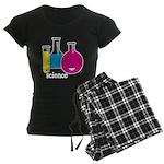 Test Tubes Women's Dark Pajamas