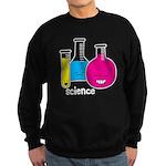 Test Tubes Sweatshirt (dark)