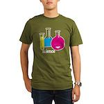 Test Tubes Organic Men's T-Shirt (dark)