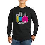 Test Tubes Long Sleeve Dark T-Shirt
