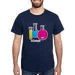 Test Tubes Dark T-Shirt