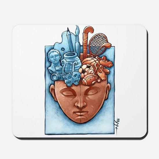 Artist Athelete Mousepad