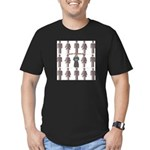 Not a Corporate Clone (close- Men's Fitted T-Shirt