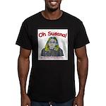 Oh Susana! Men's Fitted T-Shirt (dark)