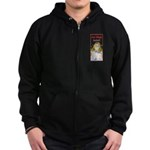 Hot Flash Ice Tub Zip Hoodie (dark)