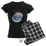 Hot Flash Tub of Ice Women's Dark Pajamas