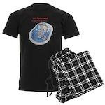 Hot Flash Tub of Ice Men's Dark Pajamas