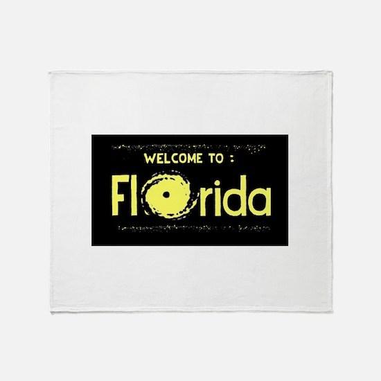 The Hurricane State Throw Blanket