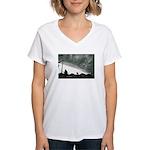 Hurricane Charley 2004 Women's V-Neck T-Shirt