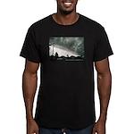 Hurricane Charley 2004 Men's Fitted T-Shirt (dark)