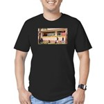More Cell Phone Charges Men's Fitted T-Shirt (dark