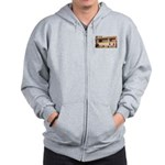 More Cell Phone Charges Zip Hoodie